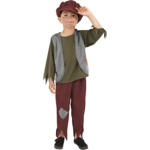 38660 - Victorian Poor Boy Costume With Hat