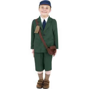 38669 - World War II Evacuee Boy Costume