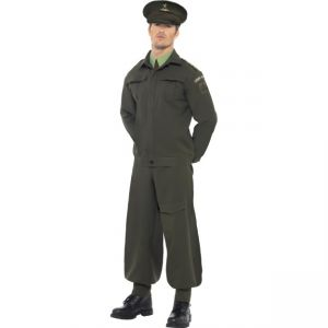 38815 - WW2 Home Guard Costume Green