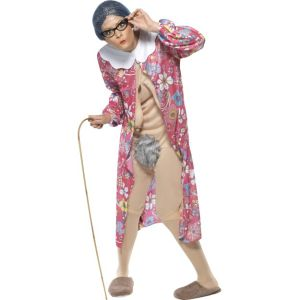 39343 - Gravity Granny Costume