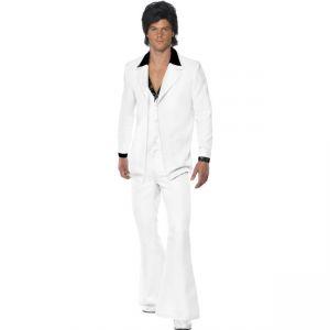 39427 - 1970\'S Suit Costume, White
