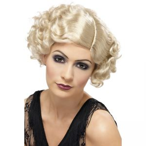 42003 - 20\'S Flirty Flapper Wig,Blonde