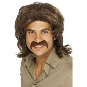 42019 - 70\'S Retro Wig,Brown