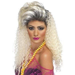 42022 - 80\'S Bottle Blonde Wig