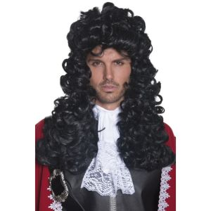42041 - Pirate Wig,Black
