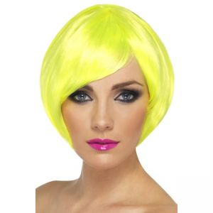 42052 - Babe Wig, Neon Yellow