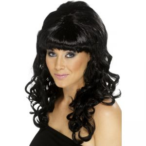 42062 - Beehive Beauty Wig,Black