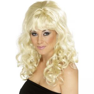 42063 - Beehive Beauty Wig,Blonde