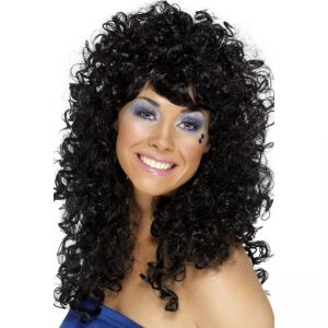 42064 - Boogie Babe Wig,Black