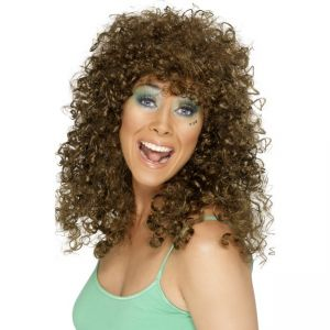 42066 - Boogie Babe Wig,Brown