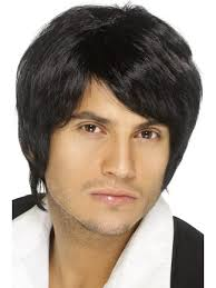42067 - Boy Band Wig, Black