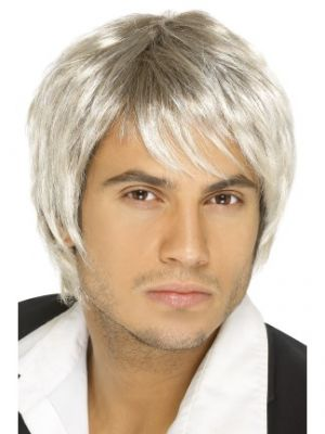 42070 - Boy Band Wig, , Light Blonde And Brown