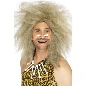 42080 - Crazy Caveman Wig,Blonde