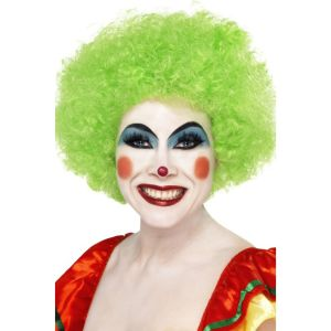 42084 - Crazy Clown Wig,Green