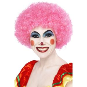 42086 - Crazy Clown Wig,Pink