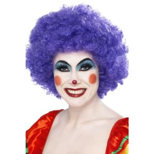 42087 - Crazy Clown Wig,Purple