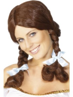 42095 - Country Girl Wig , Brown