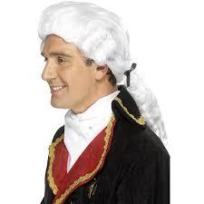 42096 - Court Wig, White