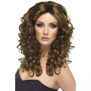 42150 - Glamour Wig,Brown