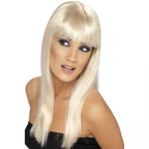 42154 - Glamourama Wig ,Blonde