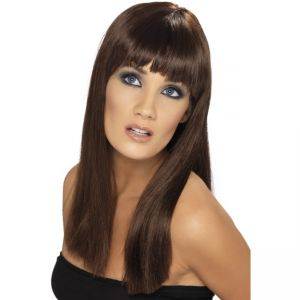 42155 - Glamourama Wig ,Brown