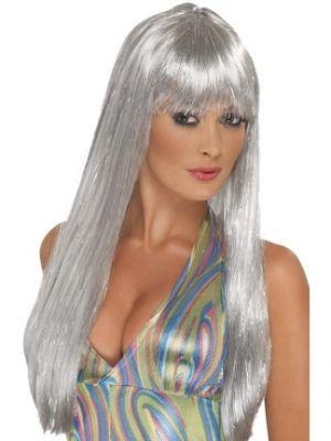 42166 - 70\'S Glitter Disco Wig