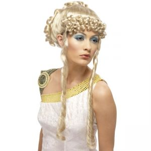 42168 - Greek Goddess Wig ,Blonde