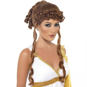 42181 - Helen Of Troy Wig ,Brown