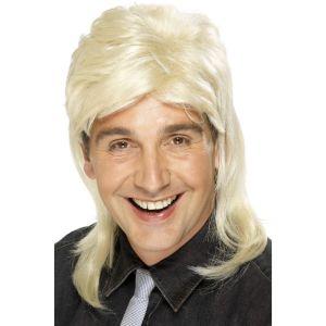 42194 - Mullet Wig,Blonde