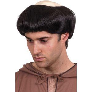 42211 - Monks Wig,Black