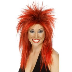 42241 - Rock Diva Wig ,Two Tone