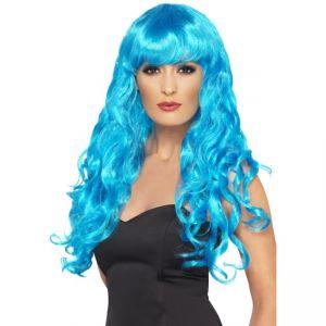 42260 - Siren Wig ,Blue