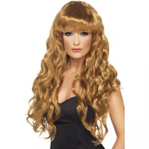 42261 - Siren Wig ,Brown