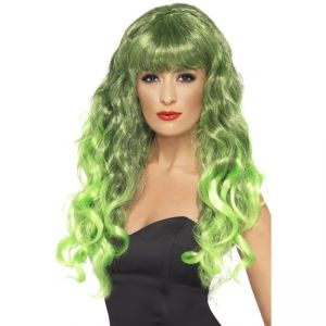 42262 - Siren Wig Green Black