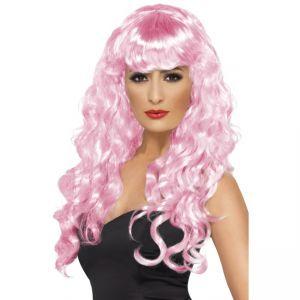 42264 - Siren Wig ,Pink