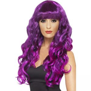 42266 - Siren Wig Purple Black