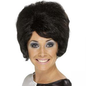 42272 - 60\'S Beehive Wig,Black