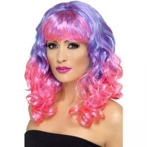 42399 - Divatastic Wig, Curly,Purple