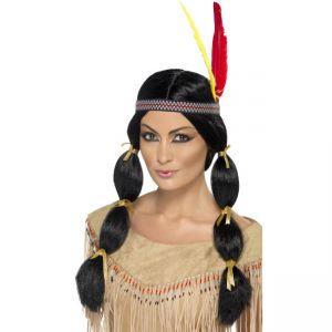 42449 - Indian Wig,Black