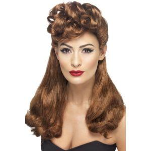 42459 - 40\'S Vintage Wig,Auburn