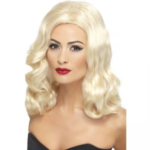 42461 - 20\'S Luscious Long Wig,Blonde
