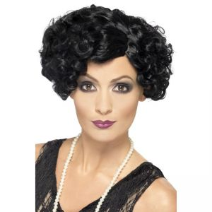 42465 - 20\'S Flirty Flapper Wig,Black