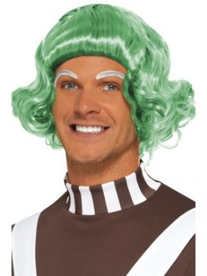 42790 - Candy Creator Wig, Men\'s, Green