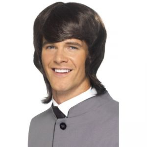 43233 - 60\'S Male Mod Wig,Brown