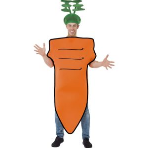 43979 - Carrot Costume, Orange, With Headpiece