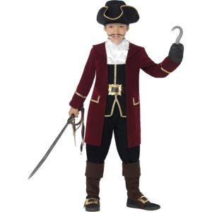 43997 - Deluxe Pirate Captain Costume, With Jacket