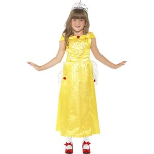 44027 - Belle Beauty Costume, Yellow, With Dress
