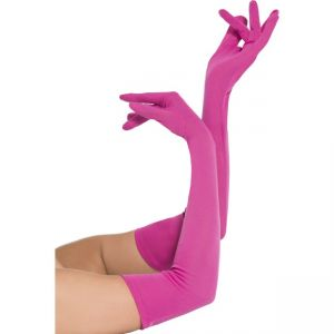 44037 - Gloves, Pink, Long