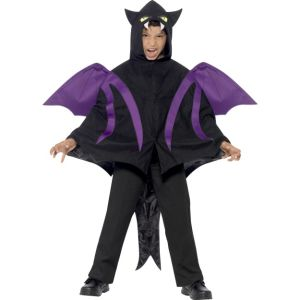 44323 - Hooded Creature Cape With Attached Wings And Tail