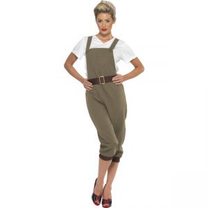 44438 - WW2 Land Girl Costume